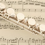 flute and notation